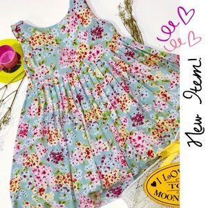 {NEW EUC!} Luli & Me Flowery Fancy Dress